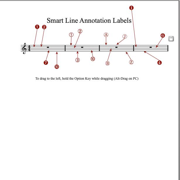 Smart Line Annotation Sample